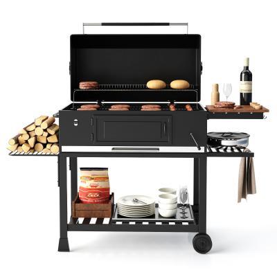 现代炊具 烧烤炉 操作台