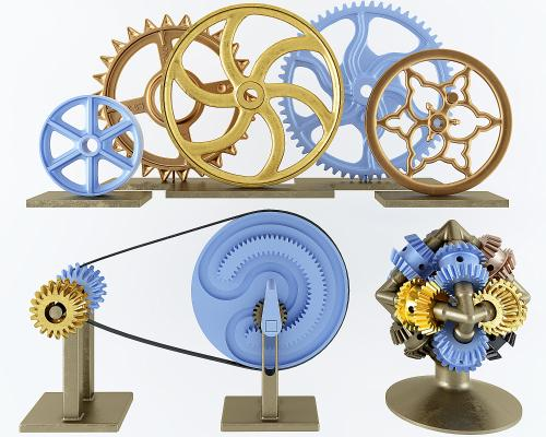 工業風齒輪 創意擺件,工藝品