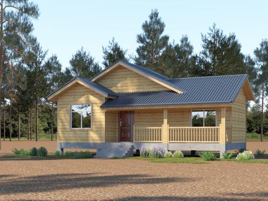 新中式木屋 别墅