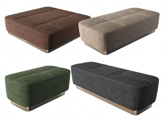 现代床尾凳
