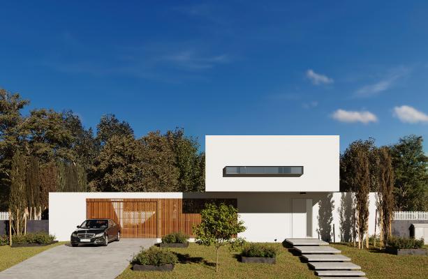 現代簡約別墅