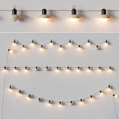 现代线性装饰灯