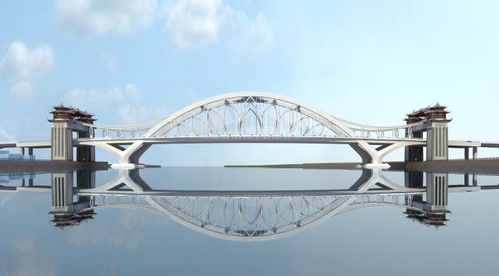 现代景观桥