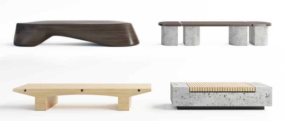 现代床尾凳 脚塌 休闲凳