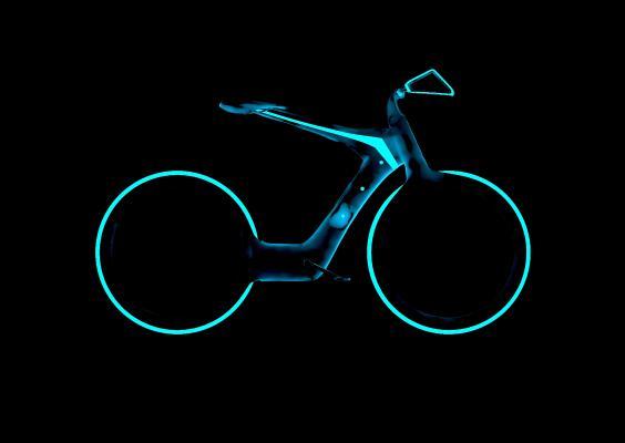 后现代科幻自行车
