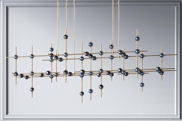 時尚吊燈,包廂吊燈,餐廳吊燈,簡約吊燈,客廳吊燈,大廳吊燈,金屬吊燈