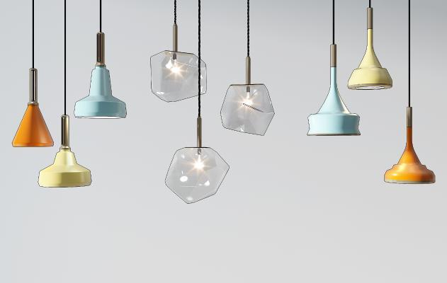 现代吊灯 壁灯 落地灯
