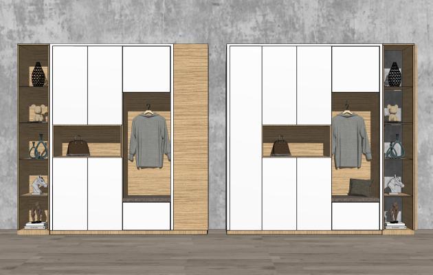 现代风格鞋柜 玄关柜 装饰柜 摆柜