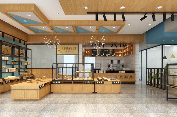 现代面包店 蛋糕店 西点店