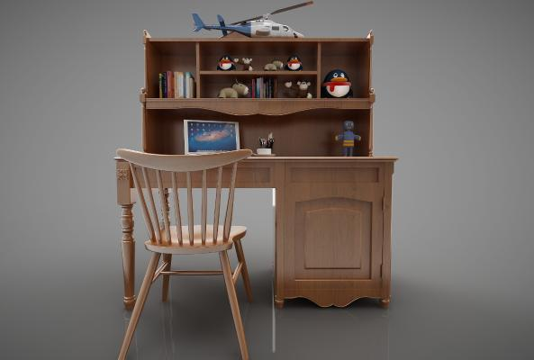 美式风格书桌