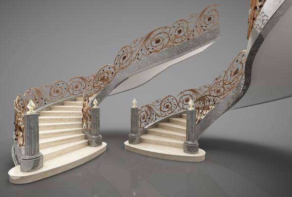欧式风格楼梯