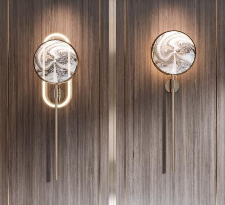 新中式壁燈組合