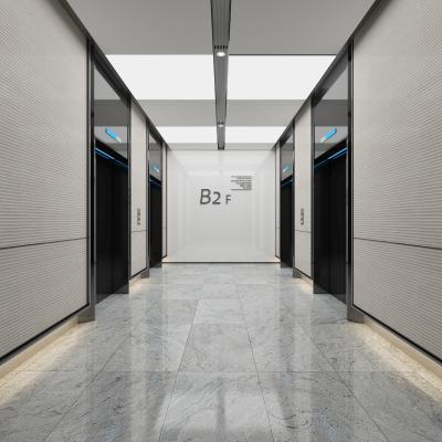 现代电梯间 走廊过道