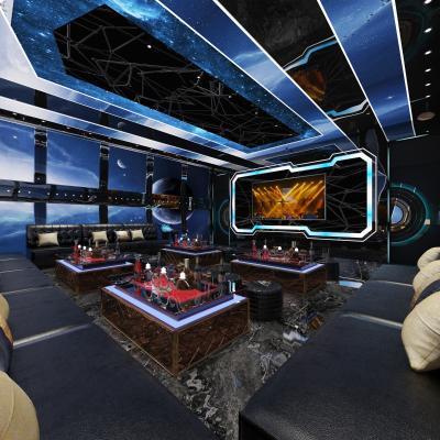 后现代KTV包房 显示屏 沙发