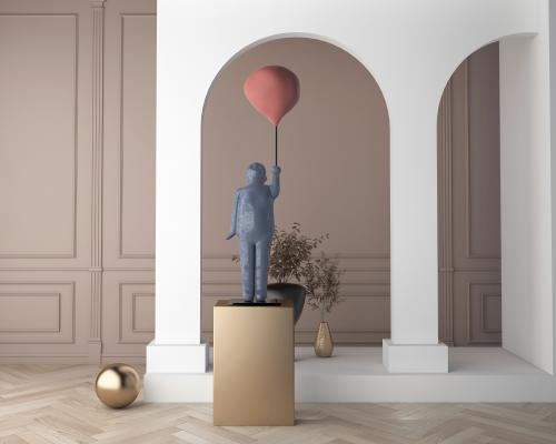 现代雕塑 人物雕塑