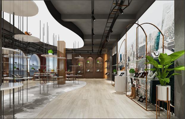 工業風鞋店