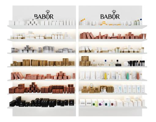 现代化妆品组合