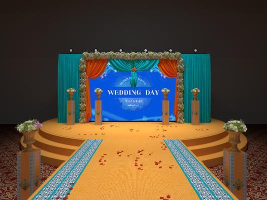东南亚婚礼舞台