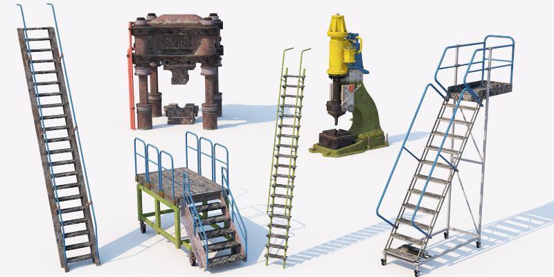 现代工业设备 化工设备 机器