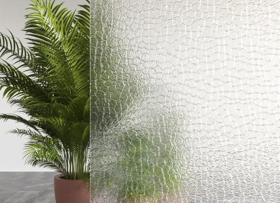 现代艺术装饰玻璃隔断