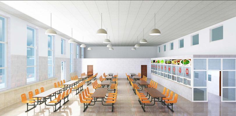 學校單位是公共餐廳