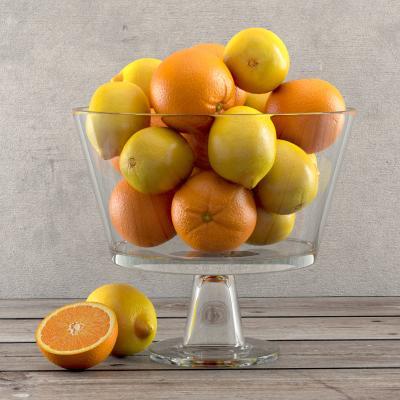 现代食物 果盘 橙子