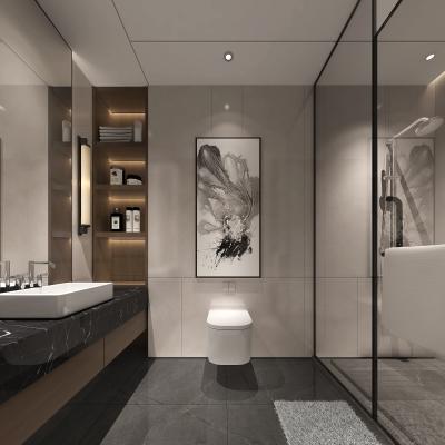 新中式酒店衛生間