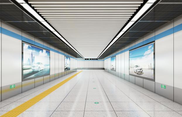 现代车站地下通道