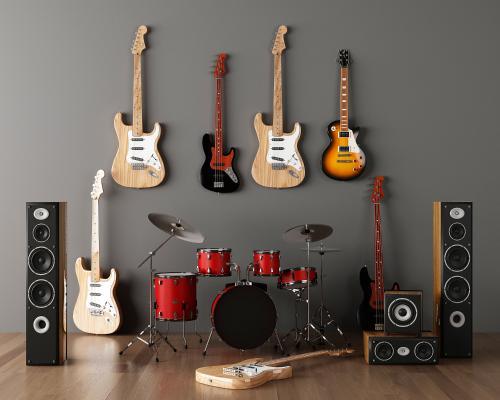 现代乐器组合