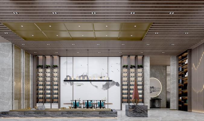 新中式茶文化展厅