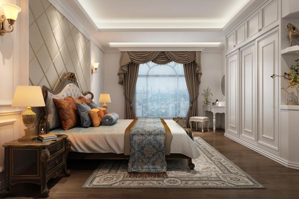 欧式古典欧式卧室