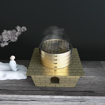 新中式蒸蒸日上香炉