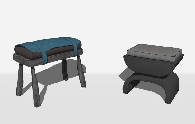新中式矮凳 脚踏