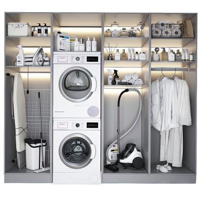 现代浴室柜洗衣柜