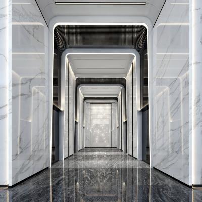 现代电梯厅 大堂