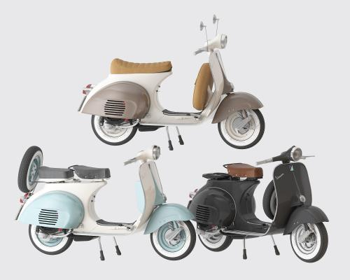 现代电动车 摩托车