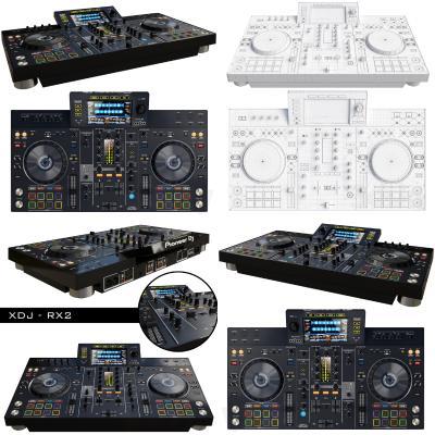 现代调音设备 先锋DJ音控设备 混音设备