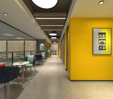 现代走廊 办公区