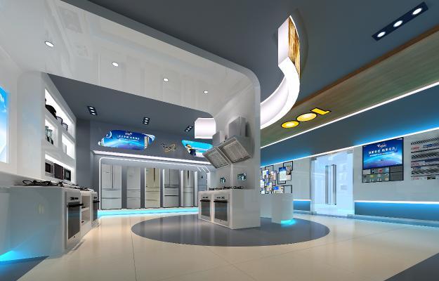 现代商业空间 电器店