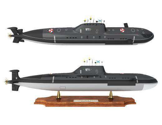 现代摆件 潜水艇摆件 装饰品