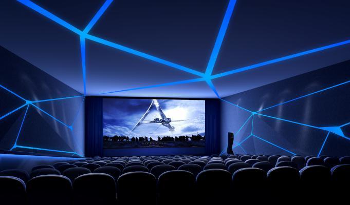 现代风格电影院 影城 私人影院