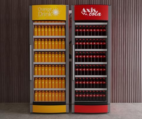 现代风格冰箱