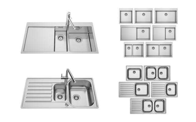 现代洗菜盆 水槽
