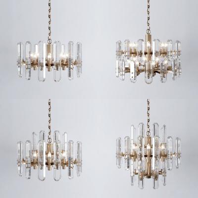 现代时尚水晶吊灯组合
