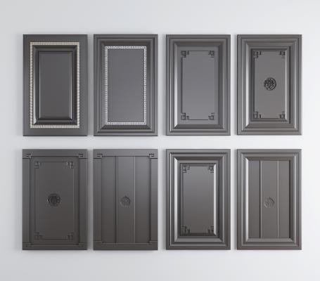 新中式橱柜 吊柜 衣柜 酒柜 门板