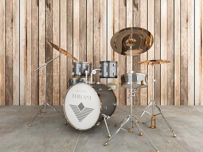 现代乐器 架子鼓
