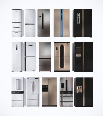 现代冰箱 厨房电器 冰柜