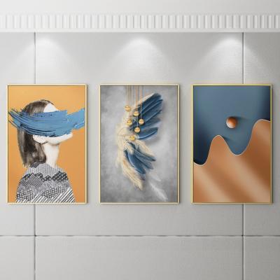 现代轻奢装饰画 墙画 挂画