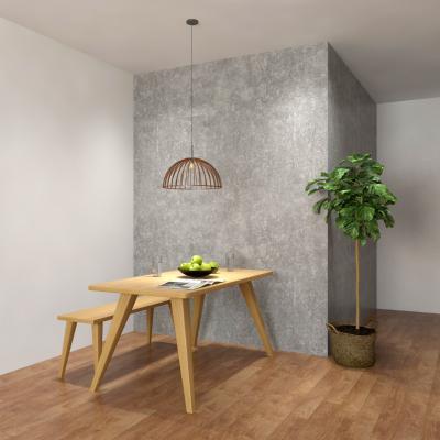 现代简约桌椅组合 盆栽