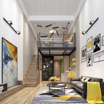 现代风格舒适型单身公寓